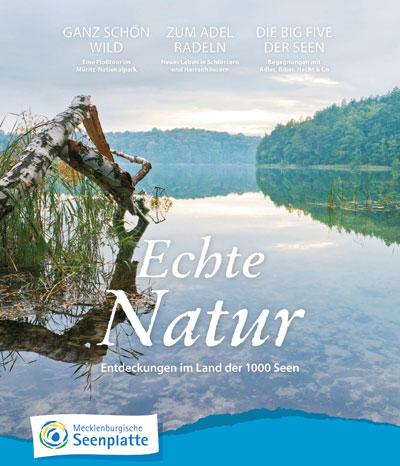 """Broschüre """"Echte Natur"""""""