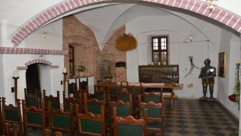 Alte Burg Penzlin Rittersaal