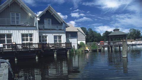 Ferienhäuser im Precise Resort Marina Wolfsbruch