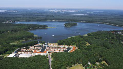 Luftbild, Hafendorf Rheinsberg