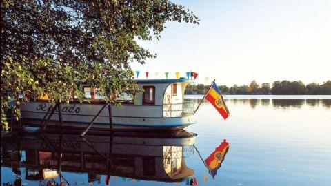 Malchiner See, Mecklenburgischen Schweiz