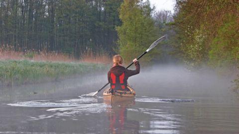 Kanu, Mecklenburgische Kleinseenplatte