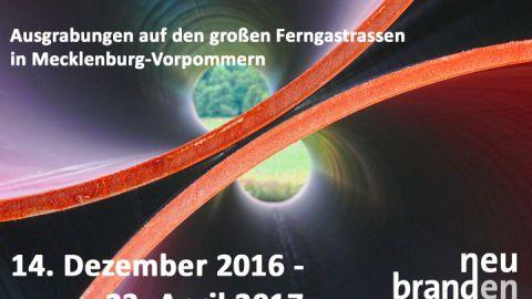 Infodisplay Rathaus Pipeline Archäologie