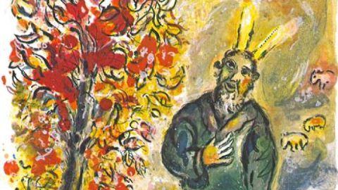 der-brenndende-dornbusch-marc-chagall-the-story-of-the-exodus-m447-vg-bild-kunst-bonn-2005