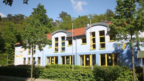 Außenaufnahme - Jugendherberge Waren (Müritz)