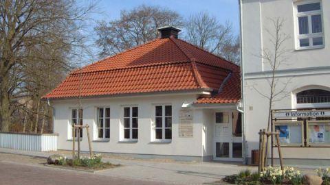 Die Ausstellung zum Naturpark befindet sich im Haus des Gastes