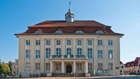 Malchin, Mecklenburgische Schweiz - Rathaus