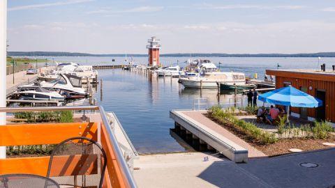 Fischerhafen am Plauer See, Müritzfischer