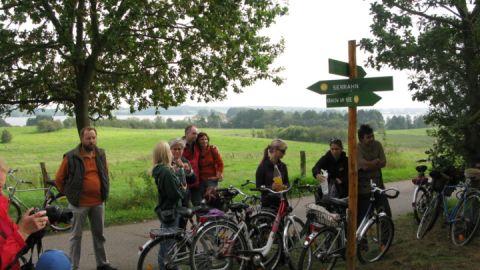 Radtour - Gutshaus Zietlitz