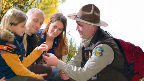 Familienausflug mit dem Ranger im Müritz Nationalpark