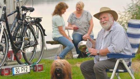 Urlaub auf dem Campingplatz Zwenzower Ufer, Mecklenburgische Seenplatte