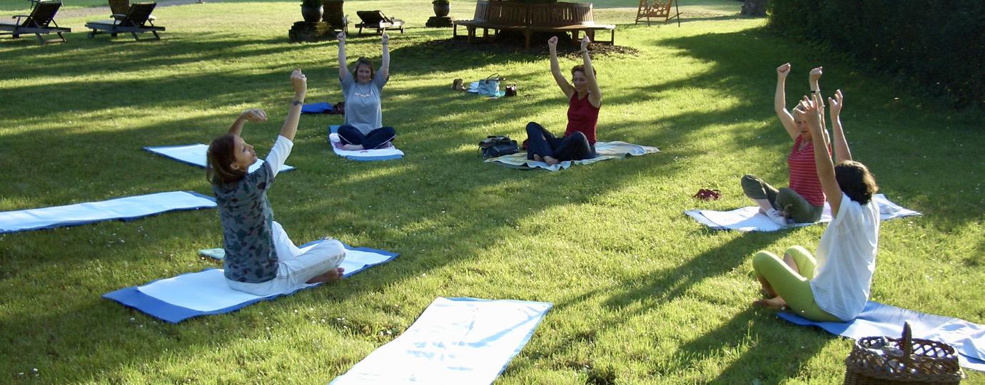Yoga beim Gutshaus Ludorf