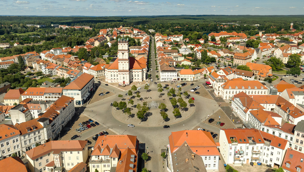 Barocke Stadtanlage Neustrelitz, Mecklenburgische Seenplatte