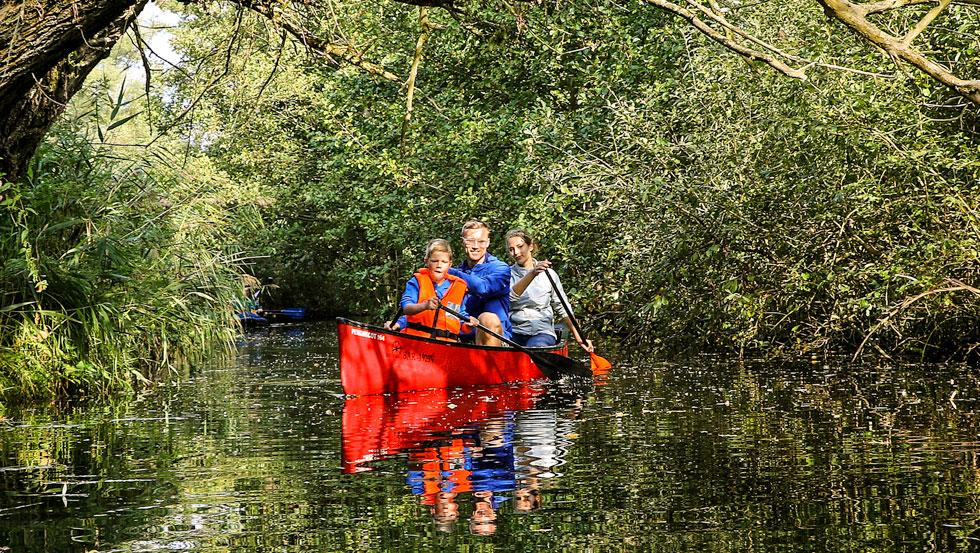 6-tägige Kanu-Hotel-Reise: Im Kanu und Kajak von See zu