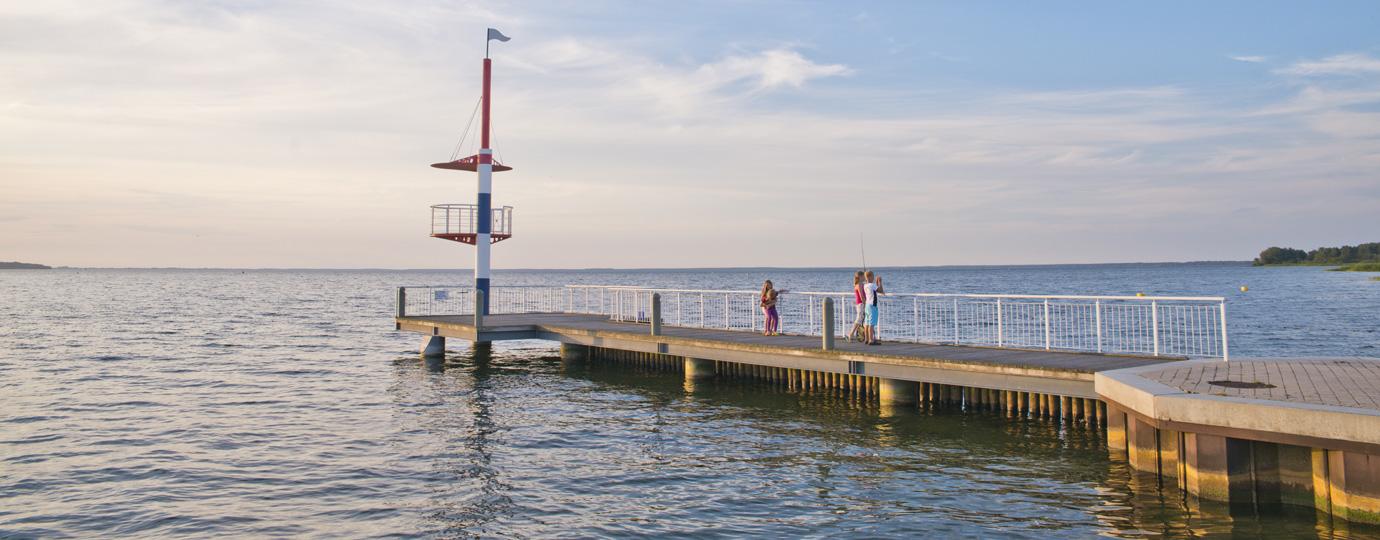 Seebrücke in Rechlin (Müritz)