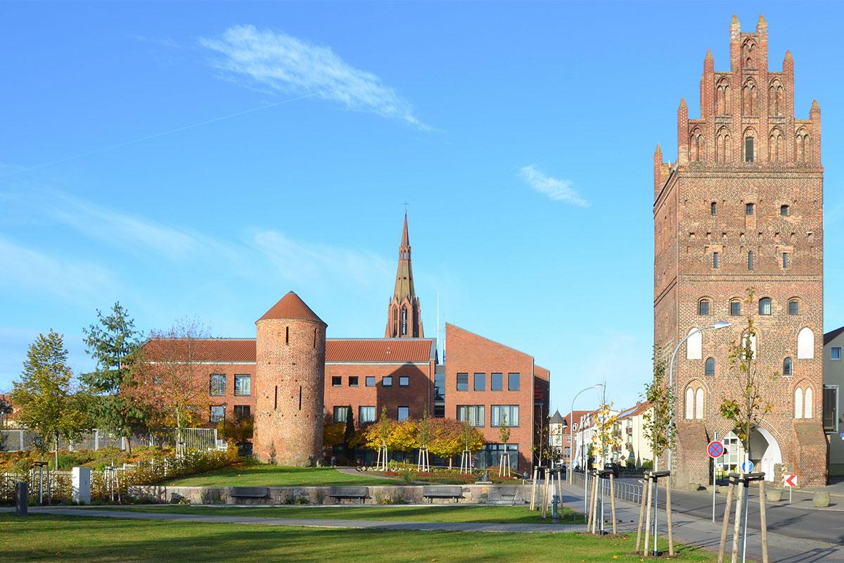 Stadttor, Hansestadt Demmin
