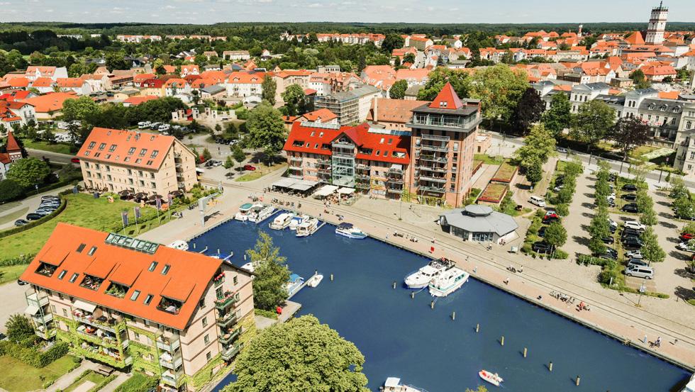 Stadthafen Neustrelitz, Mecklenburgische Seenplatte