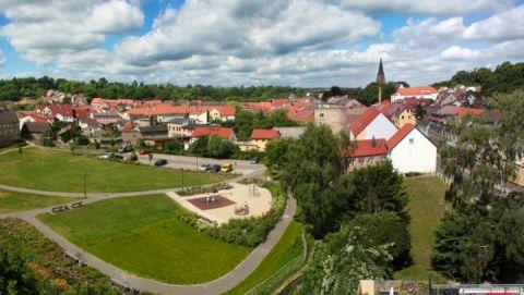 Burg Stargard Stadtpanorama