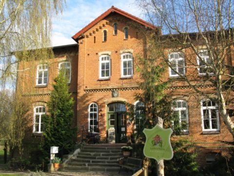 Hauseingang - Gutshaus Zietlitz