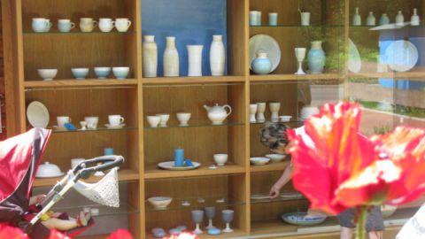 Töpferwaren - Keramikwerkstatt himmelblau