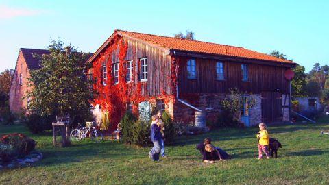 Hausansicht Zarwitzer Hütte