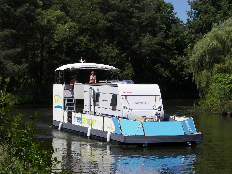 freecamper - Camping auf dem Wasser