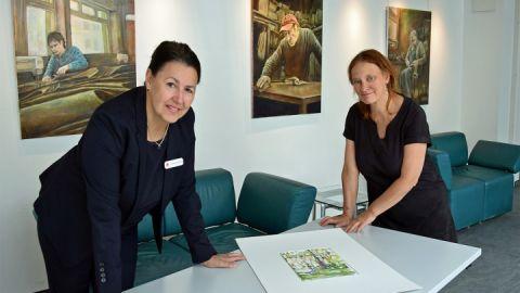 Cornelia Kestner (r.) mit Andrea Binkowski