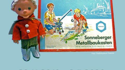 Sandmann und Metallbaukasten