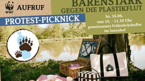Protest-Picknick im BÄRENWALD Müritz