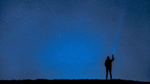 Sternschnuppen Nacht Felix Mittermeier / Pixabay