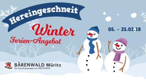 Winter-Ferien-Angebot