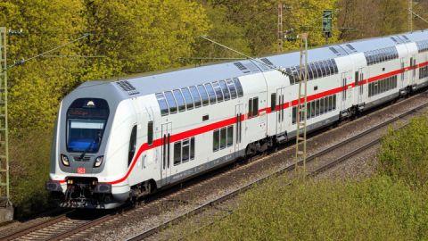 Anreise im Intercity, Deutsche Bahn
