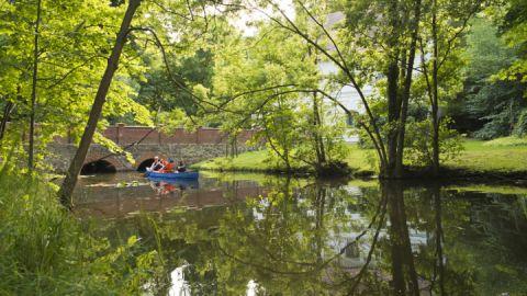 Kanu Halbtagestour - Kultur - Kanutour auf dem Mirower See