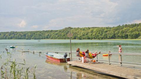 Feldberg auf der Kanutour Feldberger Seenlandschaft