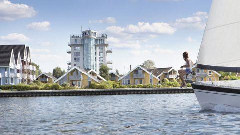 Segeln vor der Wasserfront – Ferienpark Müritz