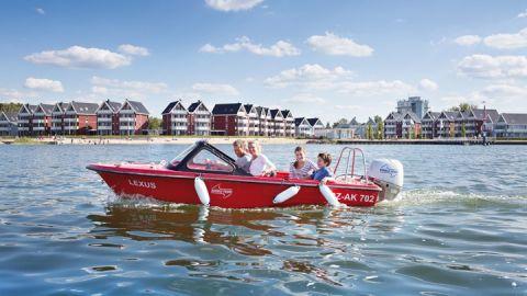 Motorboot mieten – Ferienpark Müritz