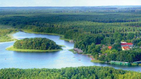 Luftbild – Ferienpark Mirow