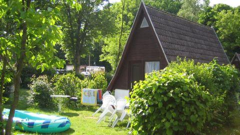 Die Finnhütte als Unterkunft