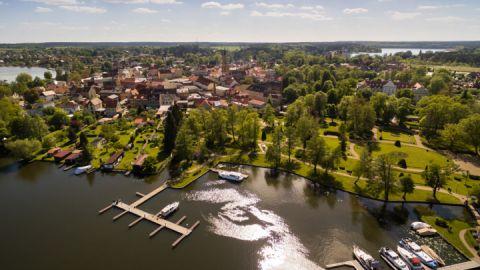 Hafen und Stadtpark - Fürstenberg/Havel