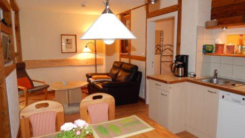3. Wohnstube mit integrierter Küche