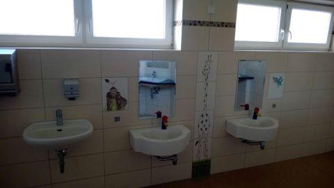 Waschräume für Kinder
