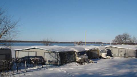 Dauercamping im Winter
