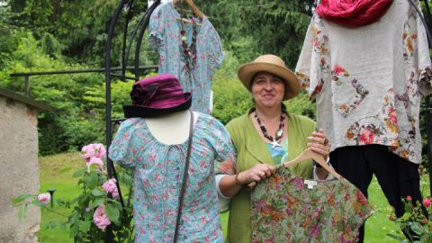 Susanne Fischer-Geißlers Mode macht Lust auf Sommer.
