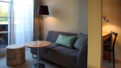 Hotelzimmer mit Seeblick