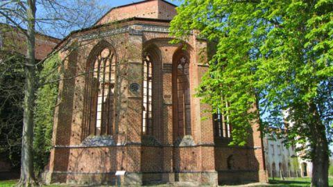 Chor der Klosterkirche in der Kloster- und Schlossanlage Dargun
