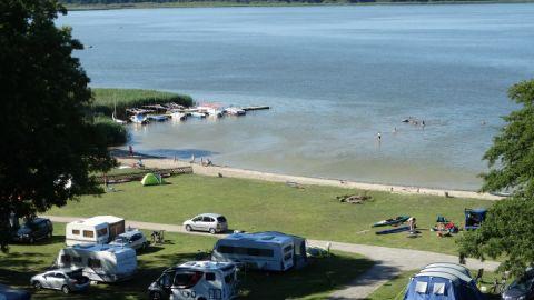 Badestrand am Campingplatz