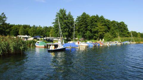Campingplatz direkt am Krakower See