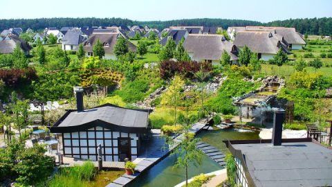 Ferienhaussiedlung auf dem Gelände des Van der Valk Resorts