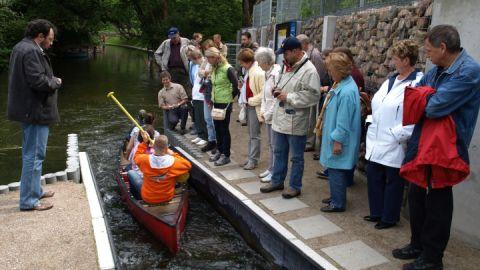 Fisch Kanu Pass Fürstenberg: Erstbefahrung