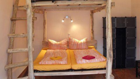 Zimmer mit Doppelhochbett - Fleether Mühle